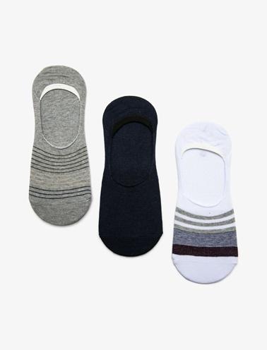 Koton 3'lü Erkek Çorap Renkli